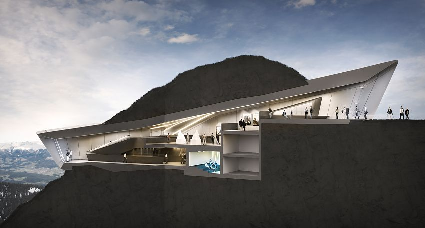 Museum messner mountain museen for Mountain architects